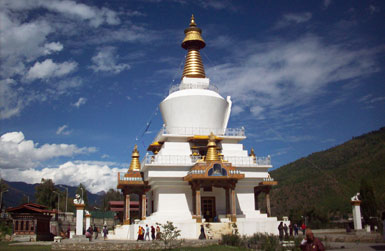 National Memorial Chorten, Thimphu