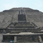 The Pyramid of the Sun Teotihuacan