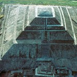 The Pyramid of the Sun at Teotihuacan