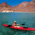 Kayaking on Isla Espiritu Santo