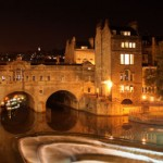 Pulteney Bridge, River Avon, Bath, England