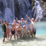 Havasupai Falls turquoise waters