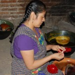 Oaxaca candle maker