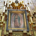 Virgen de Guadalupe in the Basilica