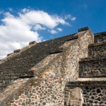 The ruins of Teotihuacan