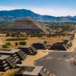 The Pyramid of the Moon Teotihuacan