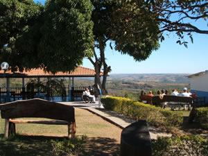 Meditation area at the Casa