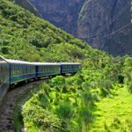 Train to Machu Picchu Peru