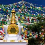 Stupa on our Spiritual Journey to Dharamsala