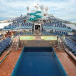 Carnival Cruise swimming pool