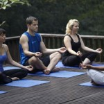 Yoga at our Women's Bali Retreat
