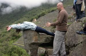 Flying at Machu Picchu