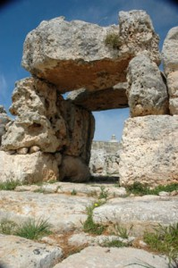Ta Hagrat ruins Malta