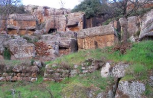 Norchia rock tombs
