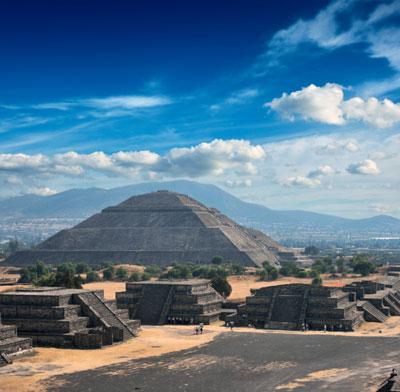 Spiritual retreat Teotihuacan